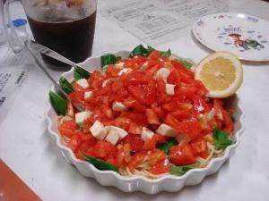 トマトがたっぷり