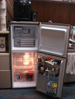 くるりん氷機能は諦めました。余裕の収納量♪
